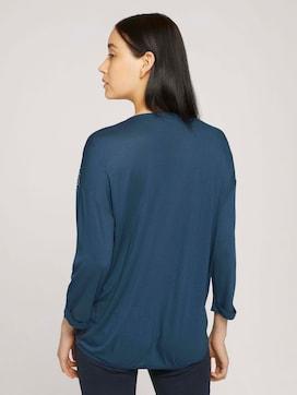 Shirt met patroon en LENZING(TM) ECOVERO™ - 2 - TOM TAILOR
