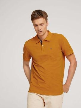 Poloshirt mit Logostickerei - 5 - TOM TAILOR