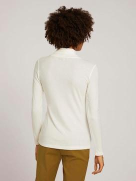 Shirt met lange mouwen en col - 2 - Mine to five