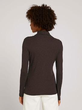 Basic-shirt met lange mouwen en rolkraag - 2 - Mine to five