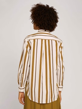 Striped shirt blouse - 2 - Mine to five
