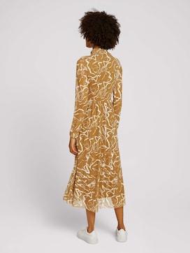 patterned midi dress - 2 - Mine to five