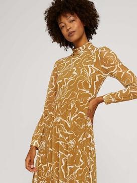 patterned midi dress - 5 - Mine to five