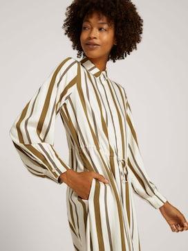 Lange blousejurk met patroon - 5 - Mine to five