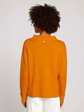 Sweatshirt mit Stehkragen - 2 - Mine to five