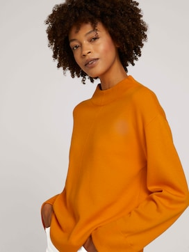 Sweatshirt mit Stehkragen - 5 - Mine to five