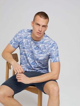 patterned t-shirt - 5 - TOM TAILOR