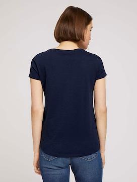 T-Shirt mit Schriftprint - 2 - TOM TAILOR Denim