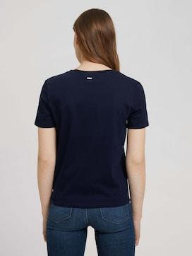 Loose Fit T-shirt met knoopdetail - 2 - TOM TAILOR Denim