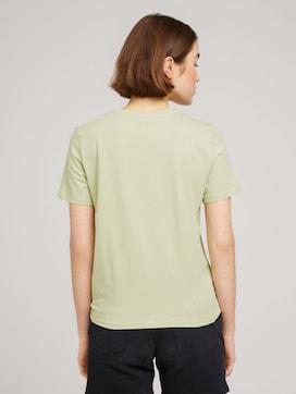 Loose Fit T-Shirt mit Knotendetail - 2 - TOM TAILOR Denim