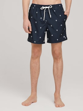 patterned swimming shorts - 1 - TOM TAILOR Denim
