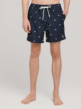 gemusterte Swim Shorts - 1 - TOM TAILOR Denim
