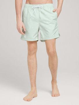 patterned swimming shorts - 1 - TOM TAILOR Denim