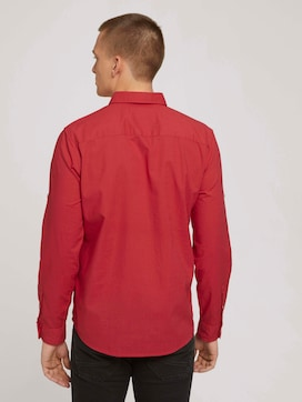 Shirt with a chest pocket - 2 - TOM TAILOR