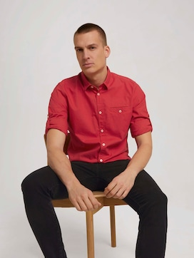 Shirt with a chest pocket - 5 - TOM TAILOR