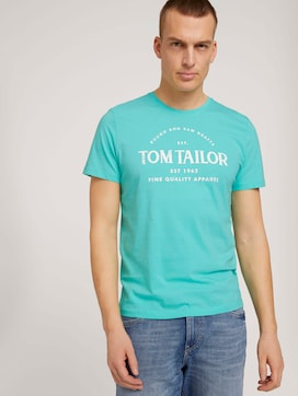 Logo Print T-Shirt - 5 - TOM TAILOR