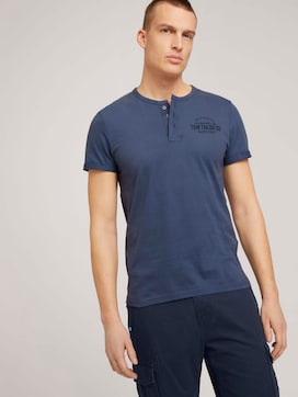 Henley T-Shirt mit Print - 5 - TOM TAILOR
