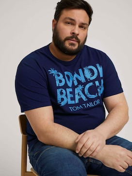 T-Shirt mit Print - 5 - Men Plus