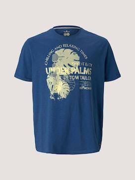 T-Shirt mit Print - 7 - Men Plus