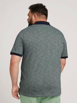 gestreiftes Poloshirt - 2 - Men Plus