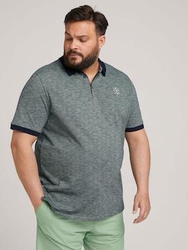 gestreiftes Poloshirt - 5 - Men Plus