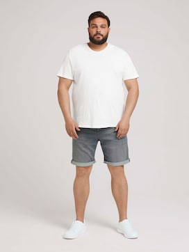Bermuda Slim Shorts - 3 - Men Plus