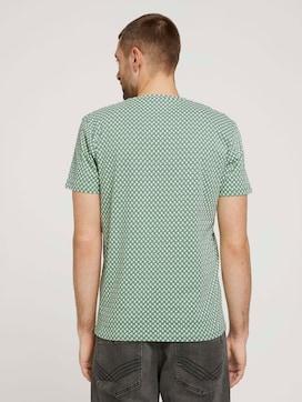 gemustertes T-Shirt aus Bio-Baumwolle - 2 - TOM TAILOR