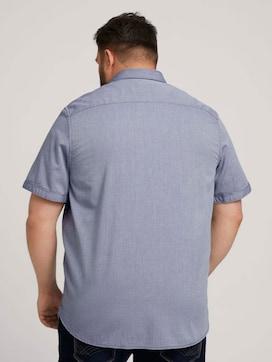 strukturiertes Hemd - 2 - Men Plus