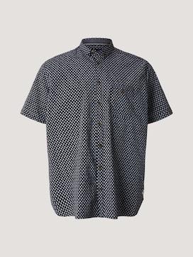 patterned shirt - 7 - Men Plus