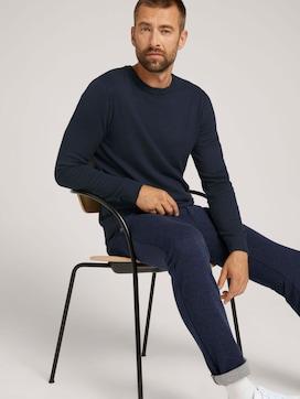 strukturierter Pullover - 5 - TOM TAILOR