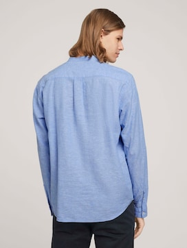 linen shirt with recycled fibres - 2 - TOM TAILOR Denim