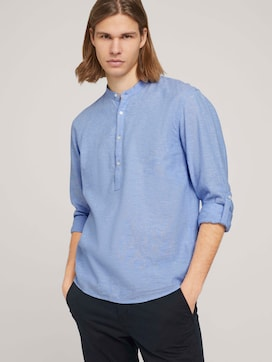 linen shirt with recycled fibres - 5 - TOM TAILOR Denim