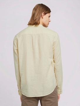 Leinenhemd mitrecycelten Fasern - 2 - TOM TAILOR Denim