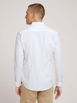Slim Fit Hemd mit Brusttasche - 2 - TOM TAILOR