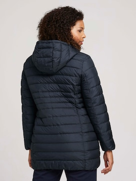 Curvy - quilted lightweight jacket with recycled polyester - 2 - My True Me