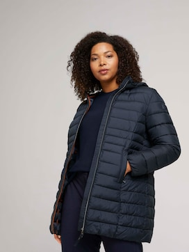 Curvy - quilted lightweight jacket with recycled polyester - 5 - My True Me