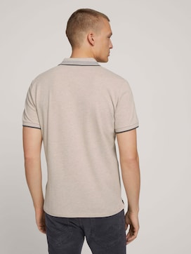 Polo shirt with collar details - 2 - TOM TAILOR