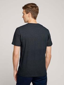 T-shirt met patroon - 2 - TOM TAILOR