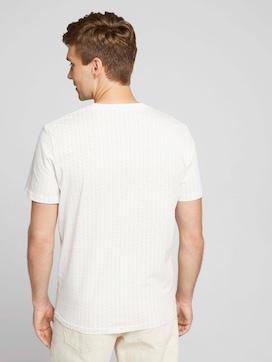 patterned t-shirt - 2 - TOM TAILOR