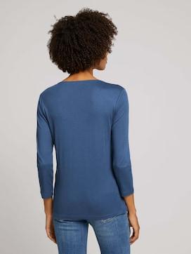 Basic 3/4 Arm Shirt mit TENCEL(TM) Modal - 2 - TOM TAILOR