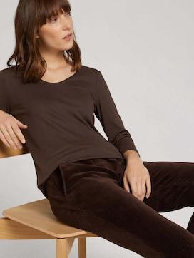 Basic 3/4 Arm Shirt mit TENCEL(TM) Modal - 5 - TOM TAILOR