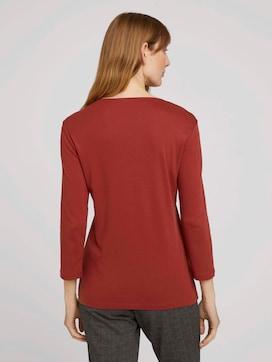 Basic-shirt met 3/4 mouw met TENCEL(TM) modal - 2 - TOM TAILOR