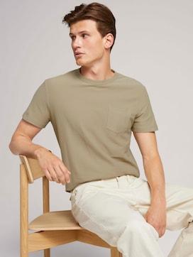 Basic T-Shirt aus Bio-Baumwolle - 5 - TOM TAILOR Denim