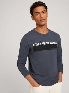 Langarmshirt mit Print - 5 - TOM TAILOR Denim