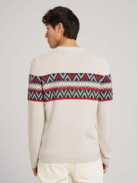 Pullover mit Muster - 2 - TOM TAILOR Denim