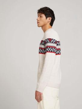 Pullover mit Muster - 5 - TOM TAILOR Denim