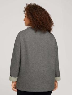 Plus - Sweatshirt mit Kragen - 2 - My True Me