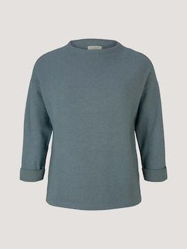 Curvy - Sweatshirt mit U-Boot Kragen - 7 - My True Me