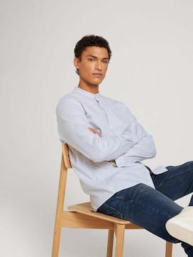 textured blouse shirt - 5 - TOM TAILOR Denim
