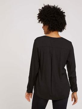 Bluse mit Brusttaschen - 2 - TOM TAILOR